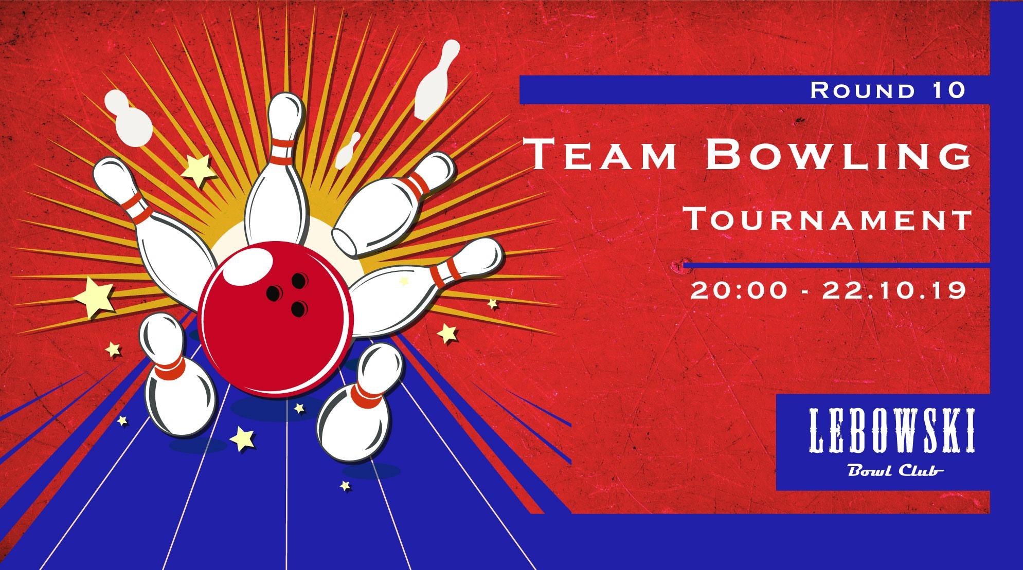 Bowling Team Tournament, Round #10 photo